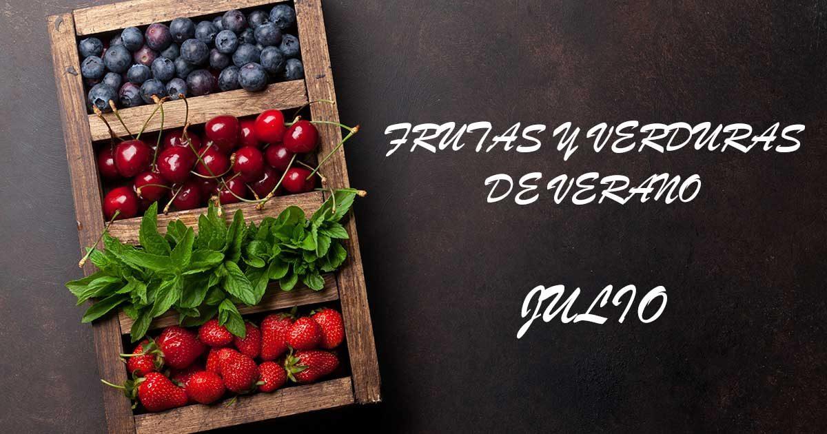 Frutas y verduras julio