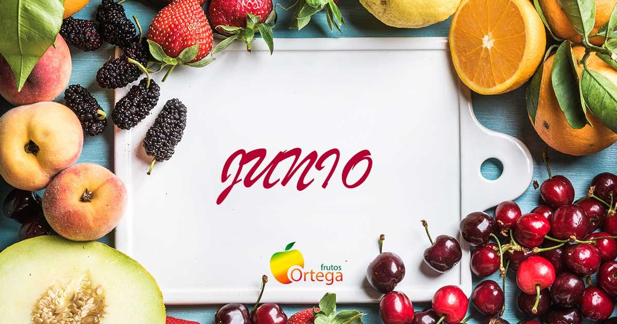 Frutas y verduras junio